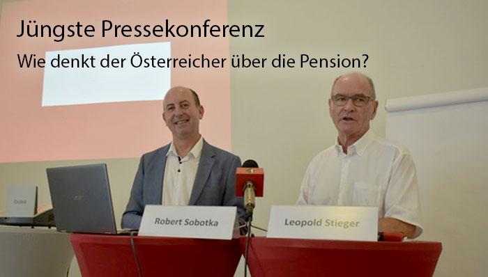 """Umfrage """"Was denken die Österreicher über die Pension"""""""